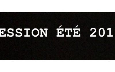 Session ÉTÉ 2019